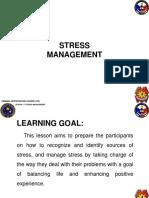 1.7 Stress Management
