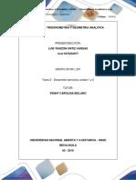 Unidad 1 y 2 Tarea 2 - Desarrollar Ejercicios Algebra, Trigonometria y Geometria Analitica