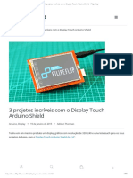 3 Projetos Incríveis Com o Display Touch Arduino Shield - FilipeFlop