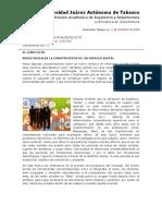 REDES SOCIALES LA CONSTRUCCIÓN DE UN ESPACIO SOCIAL