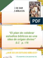 El Arte de Dar Estudios Biblicos Ef