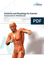 Level 2 Anatomy and Physiology for Exercise Assessment Workbook Writeable PDF Copy June 2014