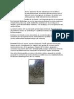 Primer Informe de Geologia Aplicada
