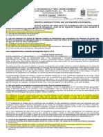 Examen Español b1 2018-2019 CONTESTADO