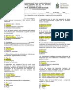 Examen de Diagnostico Biologia Contestado