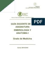 GuaDocente.EmbriologayAnantomaI.