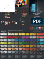 Geneve Garandache Colour Chart Pastel Pencil Cube Compressed
