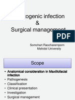 odontogenic infection & Surgical management