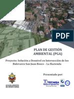 PGA Solución a Desnivel en Intersección de Los Bulevares San Juan Bosco - La Hacienda