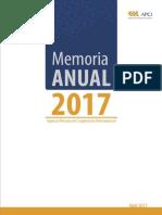 Memoria Anual APCI 2017Final