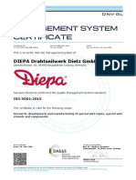 Certificado Diepa