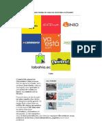 Principales Tiendas de Comercio Electrónico en Ecuador