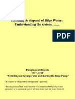 Bilge Water Mgt DG