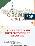 presentation about discourse analysis