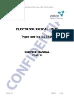 Emed ES350 ESU - Service Manual