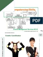 Events Management - Basic & Common Competencies