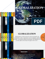 Globalization (Sep 01,2019)