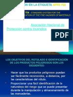Etiqueta peligros quimicos Norma 704 NFPA.ppt