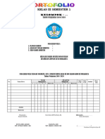 Format Penilaian Portofolio KTSP SD Kelas 3 Sem 1