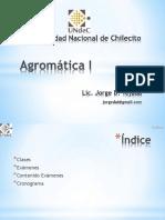 Agromática I D00
