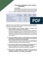Tarea Ejercicios Razones Finacieras (6) Sab 2 Clase 3 Fteoria Financiera