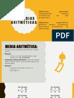 1.4 Medias Aritméticas