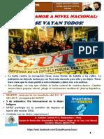 """Revista """"La Palabra Clasista"""" N° 36-SUTEP Hco"""