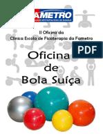 2° OFICINA DE BOLA SUIÇA