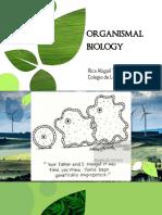 Organismal Biology Converted