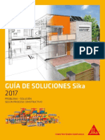 Guia de Soluciones Sika 2017