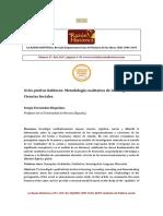 Sergio Fernández Riquelme. Metodología Cualitativa. La Razón Histórica