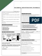 diagramas lógicos - exercicios