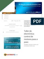 Taller de Electrónica