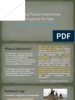Human Settlements throughout the Ages.pptx