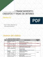 Semana 2 - Fuentes de financiamiento y tasas de interés.pdf