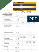 UPDATED APRACN3 Estimates Bill of Materials