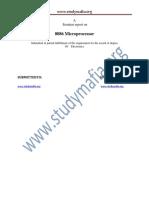 ECE Microprocessors 8086 Report (1)