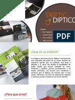 triptico y diptico