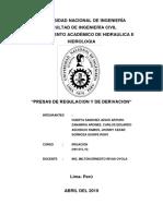 Grupo Nº2 Presas de Regulacion