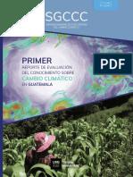 Reporte Conocimiento Cambio Climático en Guatemala