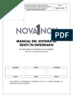 SGI NOVAINOX (Punto 8.3.3-8.4.3)