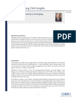 Crisis and Opportunity in Emerging Market Debt