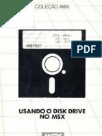 Usando o Disk Drive No MSX