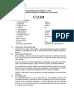 Silabo Inglés I-1
