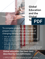 Global Education and the Global Teacher