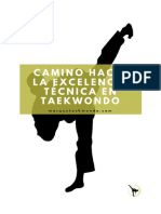 Mas Que Taekwondo - eBook - Camino Hacia La Excelencia Técnica en Taekwondo