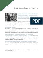 Las 5 Fuerzas Del Cambio en El Lugar de Trabajo y La Gestión de RH