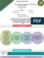 Degree of Serotonin Reuptake Inhibition of Antidepressants and Ischemic Risk