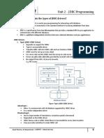 Unit 2 JDBC Programming 28012018 040330AM