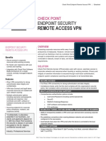 CheckPoint End Security